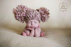 Mode bébé: Gros pompom pour ses oreilles!