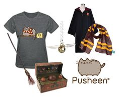 """""""School Sports"""" by selenastagg ❤ liked on Polyvore featuring Pusheen, contestentry and PVxPusheen"""
