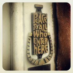 Door knocker. Bishops House. Hartlebury Castle #Worcestershire