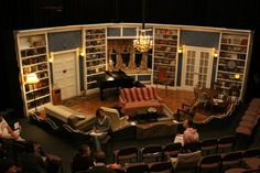 the curious savage set design - Google Search