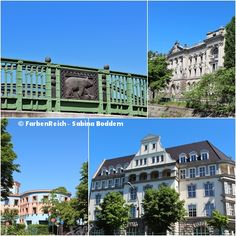 Hier dokumentiere ich mit meinen Foto-Collagen die Brückenfahrt auf dem Landwehrkanal und der Spree. Los ging es im Osten Berlins an der Jannowitzbrücke. Diese Fahrt kann ich jedem empfehlen, der B…#Berlin #Brückenfahrt #Landwehrkanal #Spree
