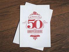 Carte de vœux letterpress on Behance