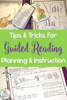 Sharing my secrets to a successful  lesson planning and instructions for guided reading!