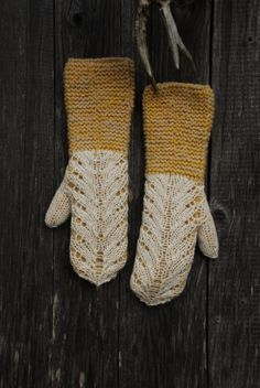 Undiin by Kristi Everst--- these are incredible. Maybe a good use of my leftover fingerling yarn.