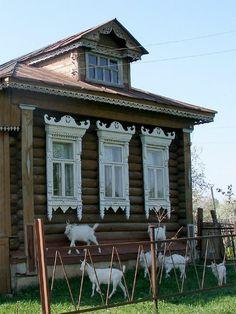 19th century russian Nalichnik folk art