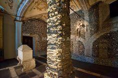 Capela dos Ossos (Bones Chapel) in the São Francisco church. Évora, Portugal