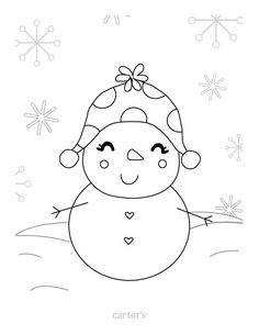 Christmas Coloring Pages And Santa Letter Printables