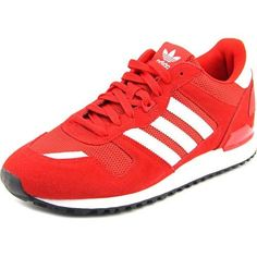 Adidas ZX 700 Men US 8.5 Red Running Shoe, Black