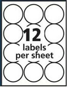 Avery 2 Round Label Template Avery Round Labels Label Templates Printable Label Templates Round Labels