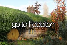 Ultimate want. I could not describe my need to visit Bag End in New Zealand :')