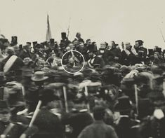 These recently released photos show Abe Lincoln like you've never seen him before - History 101 Captain American, American Civil War, American History, Rosa Parks Arrest, Gettysburg Address, Rare Images, National Cemetery, Civil War Photos, First Photograph