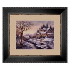 """Reflections At Twilight"" Framed Art Print by Carl Valente"