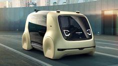 VW's autonomous Sedric concept looks like anything but a car - Autoblog