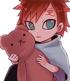 Gaara. He has also a very emotional reason to get Angry ...