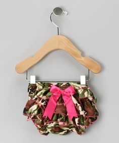 Camo Ruffle Diaper Cover - Infant | Daily deals for moms, babies and kids