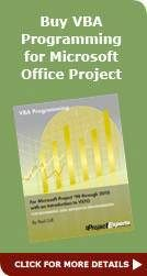 VBA Progamming for Microsoft Project Microsoft Project, Microsoft Office, Ms Project, Projects, Log Projects, Blue Prints