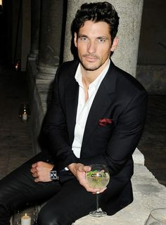 David Gandy in a Great Suit.
