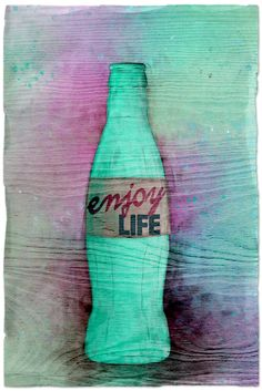 A FAIRLY FABULOUS LIFE #mixedmedia #artjournal #cocacola #painting
