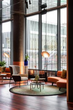 Hotel Lobby Design Inspirations / Glamorous Modern Mid-Century Decor - Flight, Travel Destinations and Travel Ideas Hotel Lobby Design, Luxury Hotel Design, Luxury Home Decor, Luxury Hotels, Modern Hotel Lobby, Beach Hotels, Luxury Bar, Florida Hotels, West Florida