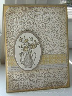 SEP13VSNMINIE Comfort Zone by hlw966 - Cards and Paper Crafts at Splitcoaststampers