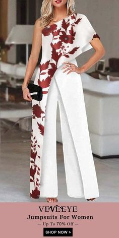 Mother Of The Bride Suits, Mother Of Bride Outfits, Dress Shirts For Women, Trendy Clothes For Women, Classy Outfits, Beautiful Outfits, Elegante Jumpsuits, Jumpsuit Dress, Mode Outfits