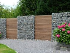 gabion wall design ideas garden fence ideas privacy fence design