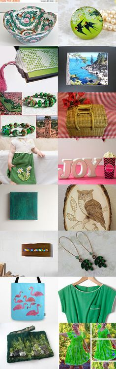 Unique Finds by nadya mendik on Etsy--Pinned+with+TreasuryPin.com