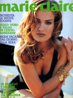 MARIE CLAIRE Italia, July 1991Model: Karen Mulder