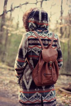 Hippie Style ♥ as long as its not real leather or fur im lovin it