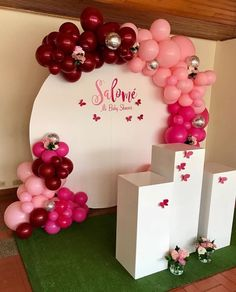 Baby Shower Backdrop, Baby Shower Balloons, Birthday Balloons, Baby Shower Themes, Baby Shower Decorations, Balloon Decorations, Birthday Party Decorations, Wedding Decorations, Birthday Parties