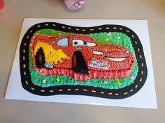 Lightning Mcqueen Cake On Pinterest Cake Car