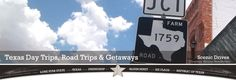 Texas Day Trips, Road Trips and Getaways....Explore Back Roads Texas. Something fun for the man friend and I!