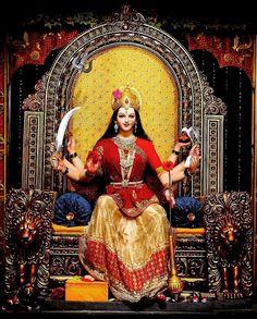 Jai maa Durga Images, Lakshmi Images, Ganesh Images, Durga Ji, Durga Goddess, Durga Puja Wallpaper, Maa Durga Photo, Navratri Puja, Happy Durga Puja