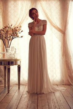 Wedding Dresses: Anna Campbell Gossamer Collection