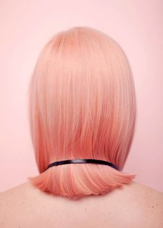 Candy-colored locks.