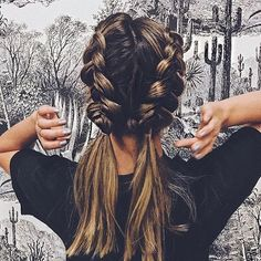 Happy weekend. Some of our fave Dutch braids via @hairby_chrissy. If you\'re after super deep hydration for your tired, dry and lacklustre strands, try sleeping with our masks in overnight and let the hydrating magic marinate your tresses. Then wash out thoroughly and style as normal when you wake up ✨. .   #braidgoals #haircrush #hairgoals #hairinspo #maneenvy #hairvibes #braidinspo