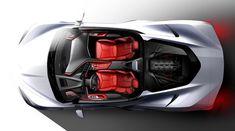 2020 Chevrolet Corvette Stingray is the first mid-engine Corvette ever - Car Body Design Chevrolet Corvette Stingray, General Motors, Chevy Silverado Hd, Course Moto, Sema 2019, Automobile, Before Us, Courses, Sport Cars
