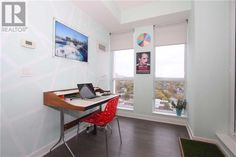 #2012 -170 SUMACH ST, Toronto, Ontario   M5A3H7 - C3972890 | Realtor.ca Ontario, Toronto, Office Desk, Corner Desk, Flowers, Furniture, Home Decor, Corner Table, Desk Office