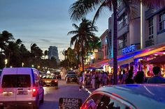 A night out in Miami Beach | Top 8 sights in and around #Miami | Weather2Travel.com #travel #usa #citybreak