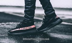 Adidas Yeezy Boost 350 V2 Black Red CP9652 SPLY Kanye West