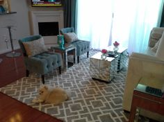 Hollywood Chic apartment - Living Room Designs - Decorating Ideas - HGTV Rate My Space