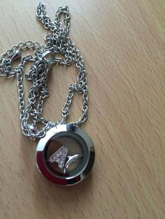 Silver Mini South Hill Designs Locket, Dolphin Charm, Crystal Letter A Charm, get it here at http://www.southhilldesigns.com/andreabrindley