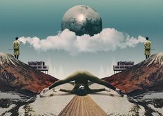 Retro Visual Collages by Julien Pacaud