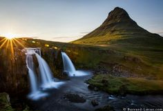 Kirkjufell at sunset taken last month in Iceland.