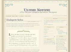 Free Blogger Templates - Nymphont