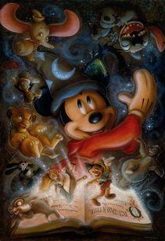 Darren Wilson Debuting Exclusive Disney Cruise Line Artwork Aboard the Disney Fantasy August 2013 Disney Pixar, Disney Animation, Disney Magic, Disney And Dreamworks, Disney Cartoons, Disney Icons, All Disney Characters, Fantasia Disney, Punk Disney
