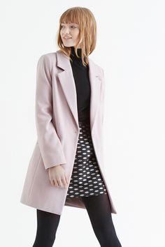 Klasyczny wełniany płaszcz | fashion&ampbeauty | Pinterest | Coats