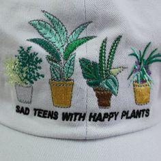 VALENTINE'S DAY SALE- SAD TEENS WITH HAPPY PLANTS