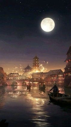 City Night Architecture Travel is part of City Night Architecture Travel In Anime Art - More than 3 million PNG and graphics resource at Pngtree Find the best inspiration you need for your project Fantasy Art Landscapes, Fantasy Landscape, Fantasy Artwork, Landscape Art, Art Japonais, Image Digital, Fantasy Places, Anime Scenery Wallpaper, Chinese Art