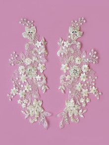 Photography of Ivory Lace Applique - Mimosa
